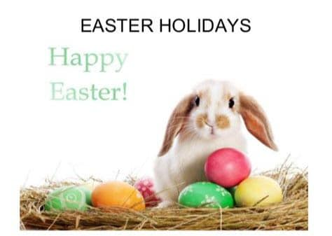 Easter and ANZAC Day Trading Hours